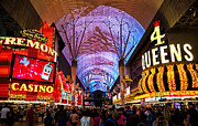 Freemont Photos - Freemont Street Experience - Downtown Las Vegas by Jon Berghoff