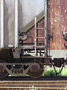 Rivets Art - Freight Train Wheels 16 by Anita Burgermeister