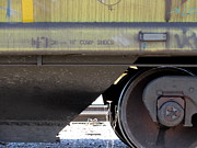 Rivets Art - Freight Train Wheels 4 by Anita Burgermeister