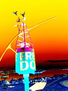 Doc Digital Art - Fremantle Doctor weather station by Roberto Gagliardi