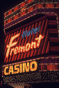 Fremont Posters - Fremont Casino Poster by Paul W Faust -  Impressions of Light