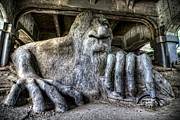 Spencer Mcdonald Framed Prints - Fremont Troll Framed Print by Spencer McDonald