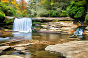 Claire Turner - French Broad Waterfall...