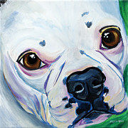 French Bulldog Paintings - French Bulldog by Melissa Smith