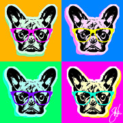 Steve Will - French Bulldog Pop Art