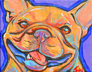 French Bulldog Smile Print by Jenn Cunningham