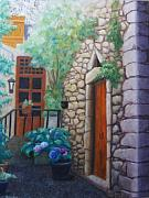 Karen Snider - French Courtyard