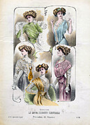 Clothes Clothing Art - French Fashion 1908 1900s Spain  Cc by The Advertising Archives