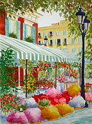 Becky Taylor Fine Art - French FLower Market