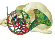 Kim Wang - French Horn with nude - ...