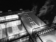 John  Duplantis - French Quarter Evening BW
