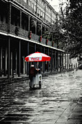 Tanya Tanski Metal Prints - French Quarter Solitude...... Metal Print by Tanya Tanski
