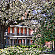 Louisiana Photo Prints - French Quarter Spring Print by Olivier Le Queinec