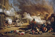 Social Movements Art - French Revolution 1792. Assault by Everett