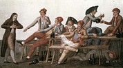 French Revolution Prints - French Revolution. Committee Of Public Print by Everett