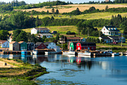 Boat Shed Prints - French River Print by Matt Dobson