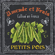 French Vegetables 2 Print by Debbie DeWitt