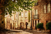 Boulangerie Prints - French Village Street / Meyssac Print by Barry O Carroll