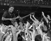 E-street Band Prints - Frenzy at Fenway II Print by Jeff Ross