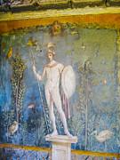 Patricia Hofmeester - Fresco of Mars in house of Venus in Pompeii