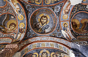 Frescoes Prints - Frescoes inside Karanlik Chruch Print by Robert Preston