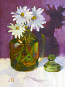 Lori Quarton Art - Fresh As A Daisy by Lori Quarton
