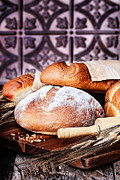 Stephanie Frey - Fresh Baked Loaves of...