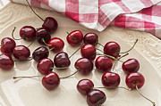 Bing Art - Fresh Bing Cherries by Rich Franco
