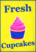 Bakery Digital Art - Fresh Cupcakes by Bill Cannon