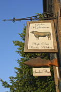 Stockbridge Posters - Fresh Fish and Meat Poster by Terri  Waters