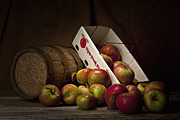 Bushel Basket Framed Prints - Fresh From the Orchard I Framed Print by Tom Mc Nemar