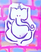 Tony B Conscious Art - Fresh Ganesh 3 by Tony B Conscious
