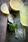 Sour Prints - Fresh lemonade Print by Mythja  Photography