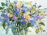 Joyce Art - Fresh Lilacs by Joyce Hicks