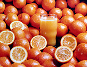 Universities Digital Art - Fresh Orange Juice by Gary De Capua