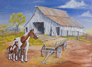 Wagon Originals - Fresh Paint by Jerry McElroy