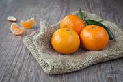 Fresh Tangerine Print by Sabino Parente