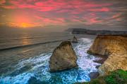 Nigel Hamer - Freshwater Sea Stack Sunset