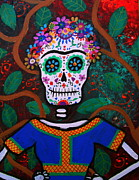 Diego Rivera Originals - Frida Kahlo Dia De Los Muertos by Pristine Cartera Turkus