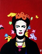 Fort Worth Originals - Frida Kahlo by Venus