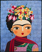 LuLu Mypinkturtle - Frida Kahlo with...