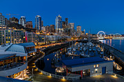 Friday Night In Seattle Print by Ken Stanback