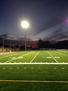 Turf Digital Art - Friday Night Lights by Tonia Allen Gould