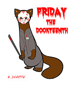 Friday The 13th Posters - Friday The Dookteenth Poster by Brian Dearth