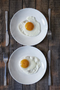 Egg Framed Prints - Fried Eggs Framed Print by Joana Kruse