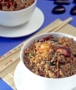 Supper Bowl Prints - Fried Rice Print by Tim Hester
