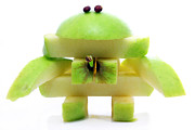 Simon Bratt Photography LRPS - Friendly apple monster made from one apple