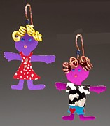Siblings Jewelry - Friends by Barbara Lager
