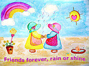 Jo Ann - Friends forever rain or...