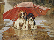 William Trood Paintings - Friends by William Henry Hamilton Trood